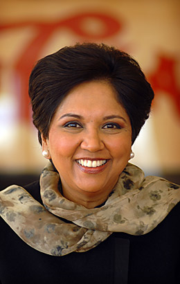 Indra Nooyi - Business Bigwigs