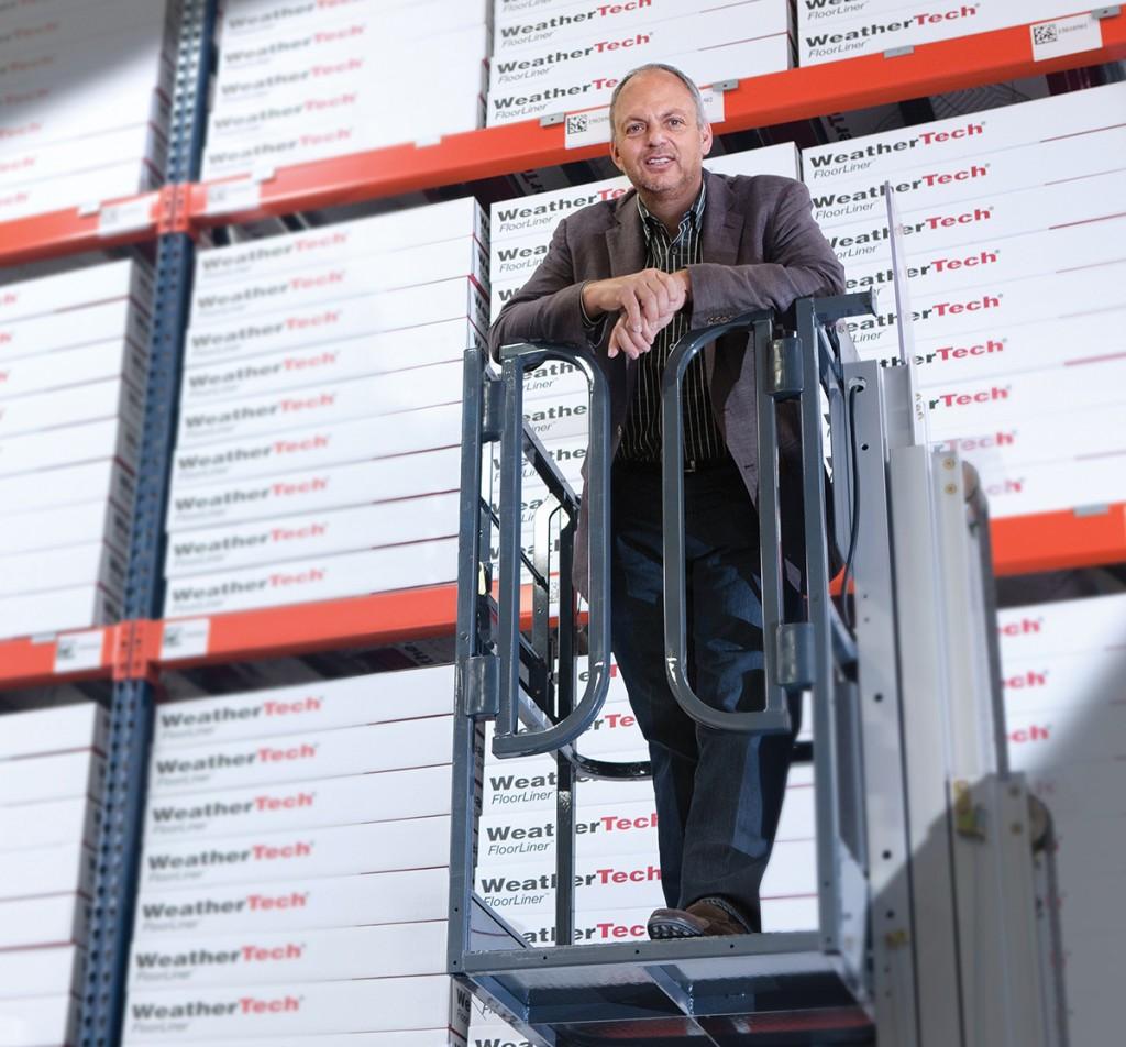 David Macneil Ceo Weathertech Business Bigwigs