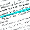 """Affordable Care Act"" text highlighted in blue"
