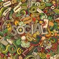 Social media content online