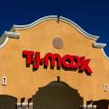 TJ Maxx storefront in Santa Clarita, CA